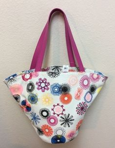 Kate Spade Purse Tote Bag Canvas Saturday White Hippie Floral Large New #katespade #TotesShoppers