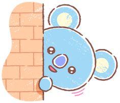 Container Bar, Line Friends, Bts Drawings, Bts Chibi, Market Bag, Crochet Accessories, Bts Video, Spongebob, Baby Headbands