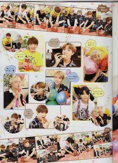 BTS Japan Official Fanclub Magazine ❤ #BTS #방탄소년단