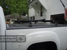 New Way To Carry Bikes/skis/etc Above The Bed Toyota Tundra Accessories, 2013 Silverado, Sierra 1500, Gm Trucks, Bike Rack, Truck Accessories, Carry On, Skiing, Bed