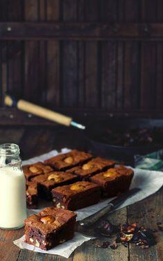Roasted Chesnut Brownies | Kanela y Limón