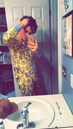 Lol....Grayson nice pajamas ❤