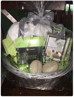 Another DT with a fabulous gift bad give away basket idea! Love it!! www.gethealthyorgohome.com