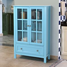 Homestar Tall Cabinet & Reviews | Wayfair - style; drawer on the bottom would be fine but isn't necessary
