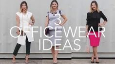 Officewear lookbook: How to dress effortlessy chic for the office.