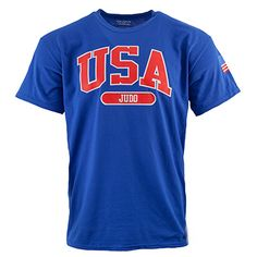 USA Martial Arts T-Shirts. USA Martial Arts T-Shirts Features:- 5.6 oz., 50% preshrunk cotton, 50% polyester.- DryBlend fabric wicks moisture away from the body.- Double-needle stitched throughout.- Seamless collar.- Heat transfer label.- Taped shoulder to shoulder.- Available in Youth Large - Adult 2XL Availability:  ships in 3-5 business days