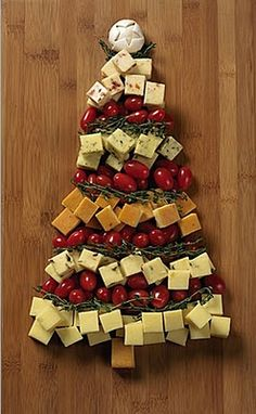 Tree of Cheese Appetizer