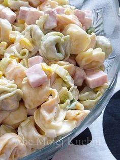 Sałatka z tortellini Best Chicken Recipes, Pasta Recipes, Appetizer Recipes, Salad Recipes, Cooking Recipes, Tortellini, Anti Pasta Salads, Chard Recipes, Vegetarian Recipes