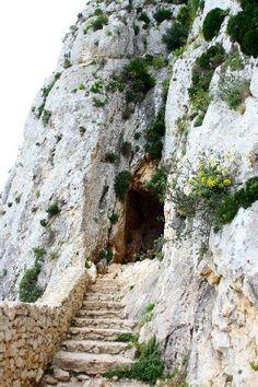 Entrada al túnel del Peñón de Ifach, Calpe - We love real estate - www.casascostablanca.nl