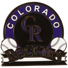 Colorado Rockies WinCraft Ball Team Pin, Your Price: $6.99