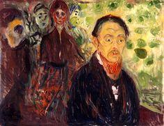 edvard munch, taken by surprise, 1907 ✏✏✏✏✏✏✏✏✏✏✏✏✏✏✏✏  ARTS ET PEINTURES - ARTS AND PAINTINGS  ☞ https://fr.pinterest.com/JeanfbJf/pin-peintres-painters-index/ ══════════════════════  Gᴀʙʏ﹣Fᴇ́ᴇʀɪᴇ BIJOUX  ☞ https://fr.pinterest.com/JeanfbJf/pin-index-bijoux-de-gaby-f%C3%A9erie-par-barbier-j-f/ ✏✏✏✏✏✏✏✏✏✏✏✏✏✏✏✏