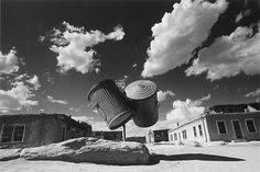 IKKO NARAHARA Two garbage cans, Indian Village, New Mexico, from the series…