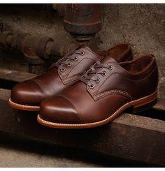 Men's Watson 1000 Mile Oxford Shoe - W00282 - Vintage Shoes | Wolverine