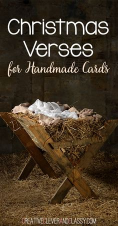 Here are the best Christmas verses for handmade cards, from popular Christmas verses to family-centered verses that work well.