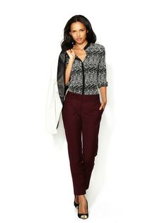 Essential Suiting Winston Cropped Pant