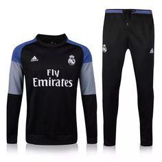 Real Madrid 2016 Black Sweatsuit