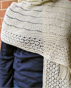 Ravelry: Love the Sky Lace Wrap pattern by Linda Lehman - Buy 4 patterns - Get 1 FREE! - No coupon code needed! Simply add 5 patterns to your cart and only pay for 4.