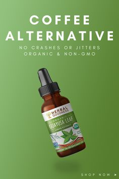 Guayusa Leaf Liquid Extract - Bottle - Organic Non-GMO - Clean Energy Extract - Coffee Alternative, No Jitters or Crash - By Herbal Goodness Papaya Recipes, Smoothie Recipes, Papaya Smoothie, Glass Dropper Bottles, Organic Cleaning Products, Yerba Mate, Sustainable Energy, Natural Energy
