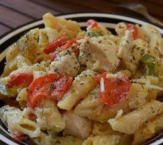 Cookbook Recipes, Lunch Recipes, Pasta Recipes, Chicken Recipes, Cooking Recipes, Healthy Recipes, Greek Cooking, Just Cooking, Food Network Recipes