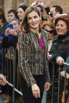 Queen Letizia of Spain Photos: Spanish Royals Visit Zaragoza