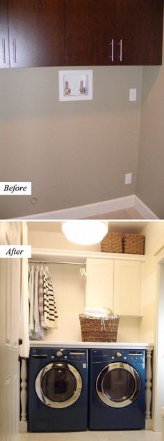 $200 Laundry Room Makeover Plan.