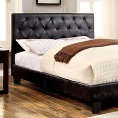 Furniture Of America Kodell California King Bed Collection CM7795BK-CK
