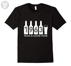 Mens 1963 was a good year 54 Years Old 54 Birthday Gifts T-shirts Large Black - Birthday shirts (*Amazon Partner-Link)