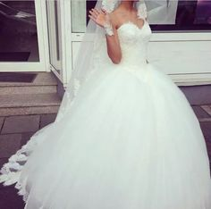 Wedding dress  on We Heart It