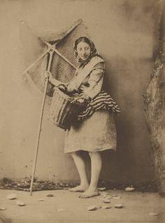 Félix Jacques Antoine Moulin       A Shrimp Fisher Girl c. 1854