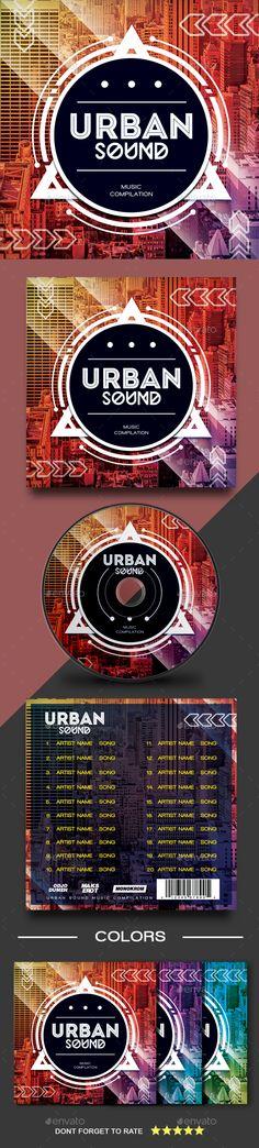 Urban Sound CD Cover Artwork - #CD & #DVD Artwork Print Templates