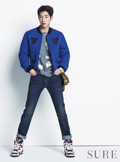 Seo Kang Joon - Sure Magazine December Issue '14