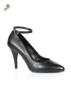 126c37d73 Sexy Black Ankle Strap Pump - 8 - Pleaser pumps for women (*Amazon Partner