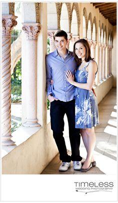 Lauren & Ryan - Engagement shoot on the Scripps college campus.