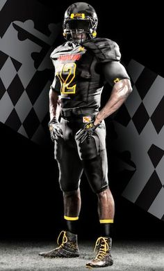 "University of Maryland ""Black Ops"" Uniform  #maryland #umd #crabcakesandfootball  visitmaryland.org"