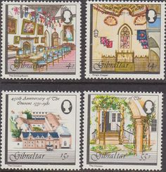 Gibraltar 1981 Airmail Service Set Fine Mint SG 454/6 Scott 410/2 Other Gibraltar Stamps HERE