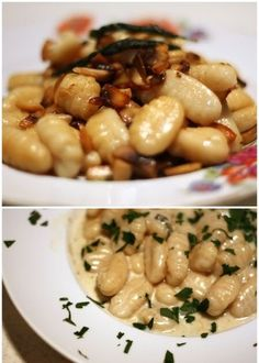 truffle oil blessed gnocchi & supremely rich gnocchi with gorgonzola sauce From the streets of Brickfields, let's have something differe...
