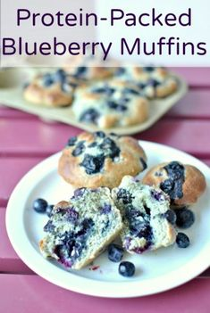 Protein Packed Blueberry Muffins – Becky's Best Bites