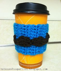 {Free Pattern} Crochet Mustache Applique Pattern