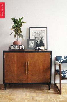 Before & After: A $5 Find Gets a Sleek New Look