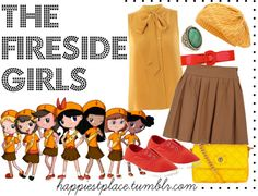 """""""The Fireside Girls"""" by disneyinspired ❤ liked on Polyvore"""