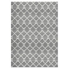 Update the look of your living room or den with the stylish geometric design of the Silky Area Rug from Ren-Wil. This handcrafted wool rug features a classic trellis pattern in contrasting colors for a chic look. 8x10 Area Rugs, Large Area Rugs, Trellis Pattern, Hand Tufted Rugs, Indoor Rugs, Grey Rugs, Geometric Designs, Woven Rug, Decor