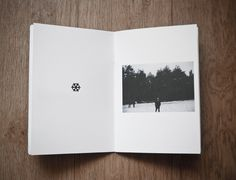 Winter time zine by Evgeniy Stepanets, via Behance