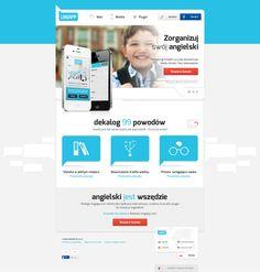 LingApp by Piotr Kazmierczak, via Behance