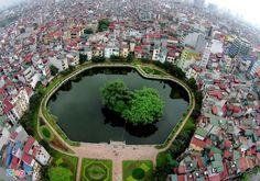 Van Mieu Lake, Hanoi
