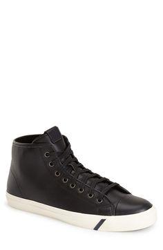ALDO 'Ybonna' Sneaker (Men) Men's Casual Wardrobe, Smooth Leather, Aldo, High Tops, High Top Sneakers, Men Casual, Nordstrom, Silhouette, Shoes