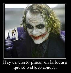 joker was not crazy at all
