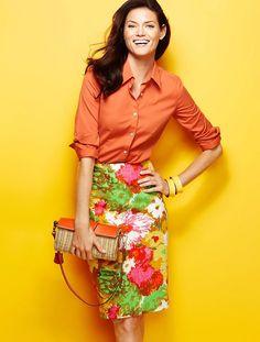 Painterly+Skirt:Orange+Top.jpeg (800×1057)