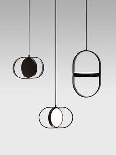 Kuu: A Reversible, Moon-Inspired Pendant Light by Elina Ulvio - Design Milk