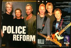 """DVD, bootleg, The Police """"Police Reform"""" (2008) - one of my favorites. Includes the complete Reunion press conference from February, 12th 2007 as well as 2 out of 3 songs from the Rock'n Roll Hall of Fame-performance 2003, among others..."""