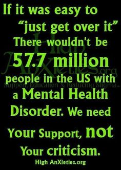 I think even those with mental illnesses need a good push toward independence, but they also need compassion.
